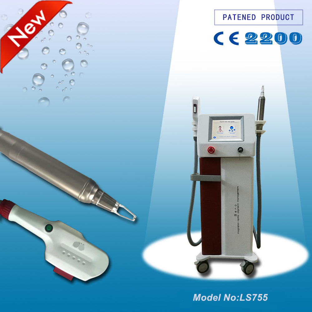Factory Price Ipl Hair Removal Skin Care Q Switched Nd Yag Laser Tattoo Removal Beauty Parlor