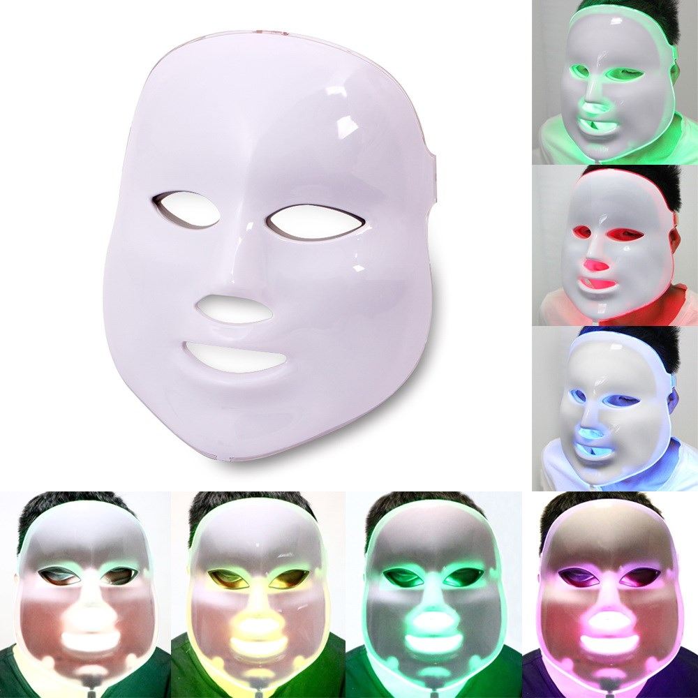 7 Color LED Light Therapy Mask