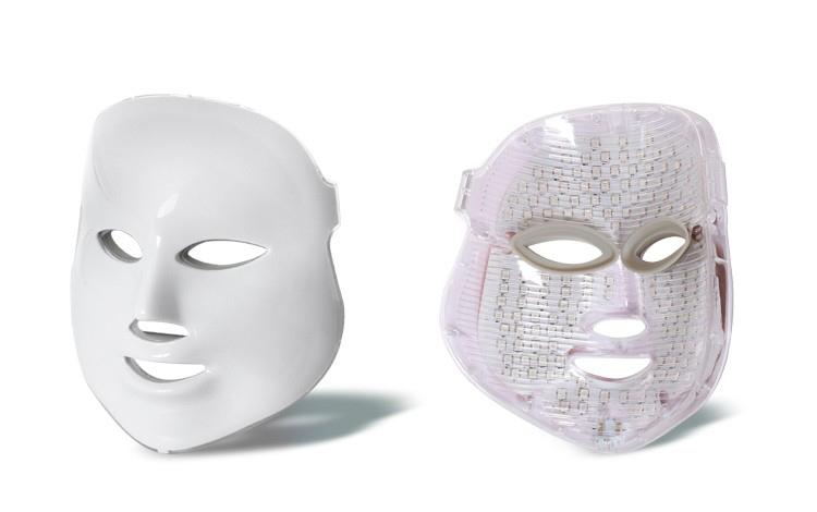 Colorful LED Beauty Mask Back Front